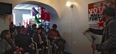 Bloco e Podemos em Campo Maior